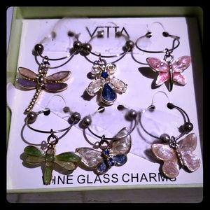 Vita Bella Wine Charms Set of 6